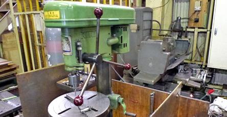 各種金属機械加工